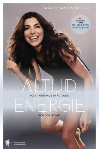 """Boek Saartje Vandendriessche """"Altijd Energie"""""""